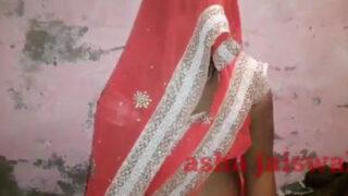 Dehati Bhabhi enjoying anal sex at home