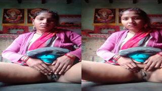 Cute Bihari village Bhabhi nude pussy show