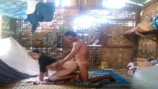 Tribal village couple homemade sex video