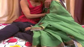 Dehati Hot Bhabhi Fucking With Young College Guy