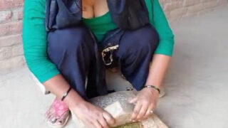 Horny village wife sex with uncle at home