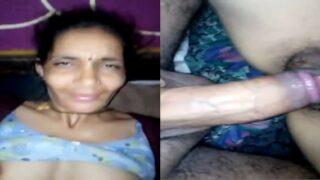 Village wife fucking at night