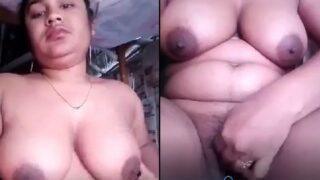 Bangladeshi village Bhabhi nude show MMS