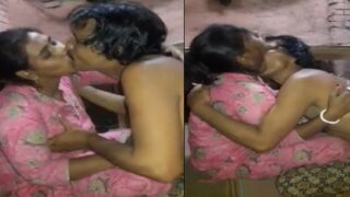 Village wife foreplay sex with elder brother of hubby