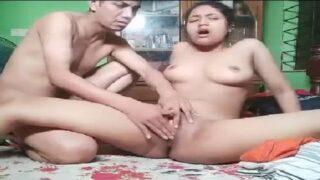 Desi village couple hardcore homemade sex video