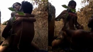 Kannada village girl outdoor sex with BF video