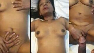 Small tits mature village slut sex with customer video