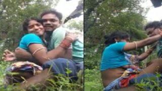 Odia village couple outdoor sex adventure