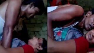 Village couple self-made sex video