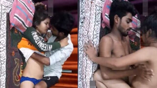 Cute Dehati girl nude sex with lover