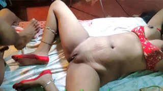 horny Rajasthani village wife homemade porn video
